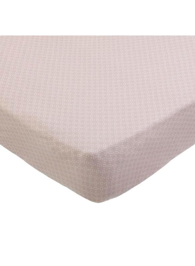 Ledikant Hoeslaken - Pink Pearls