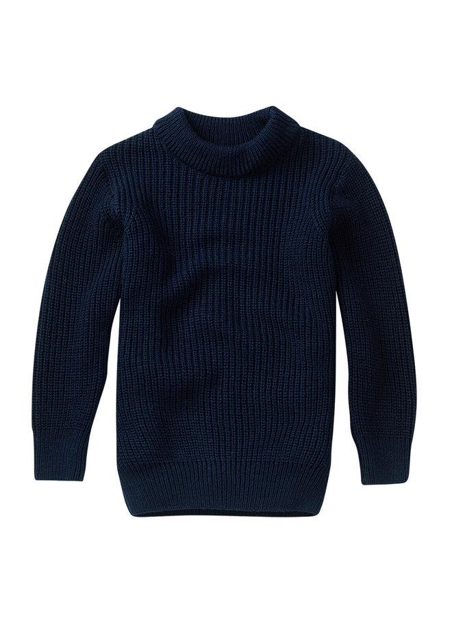Knit Jumper Midnight Blue