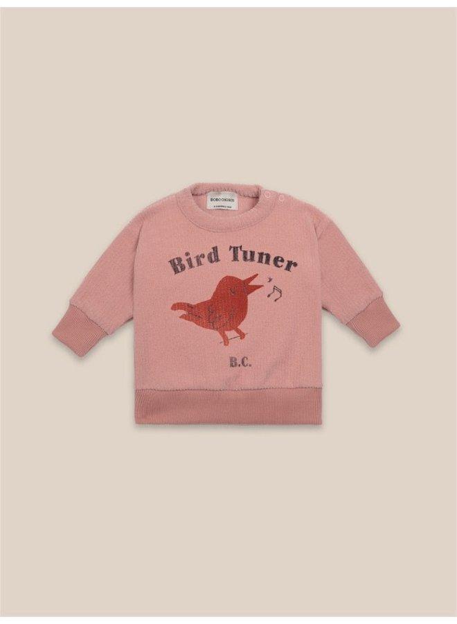 Bird Tuner Terry Towel Sweatshirt