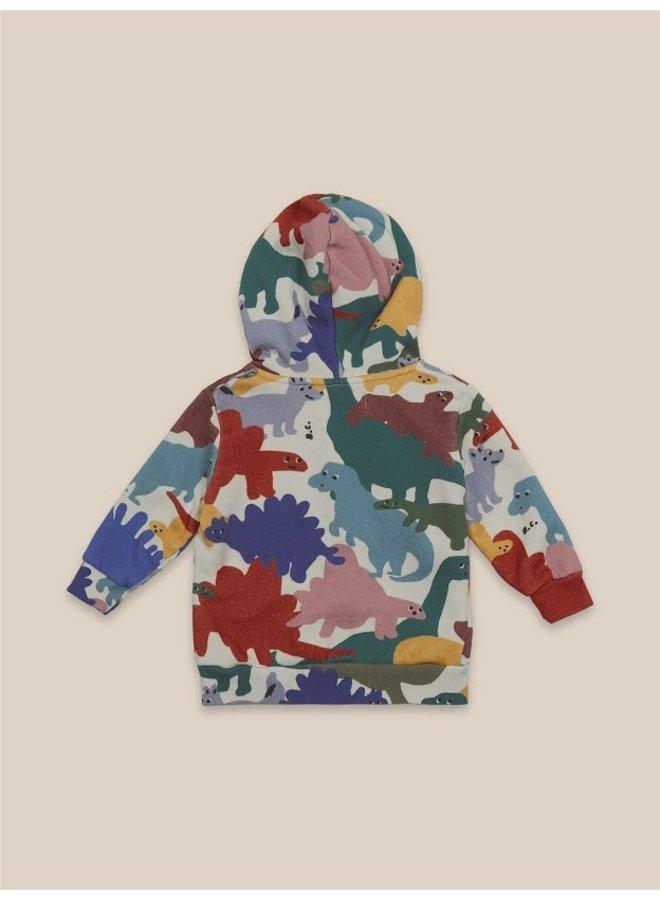 Dinos All Over Hooded Sweatshirt