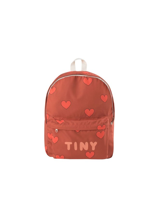 Hearts - Big Backpack - Sienna/Red - One Size