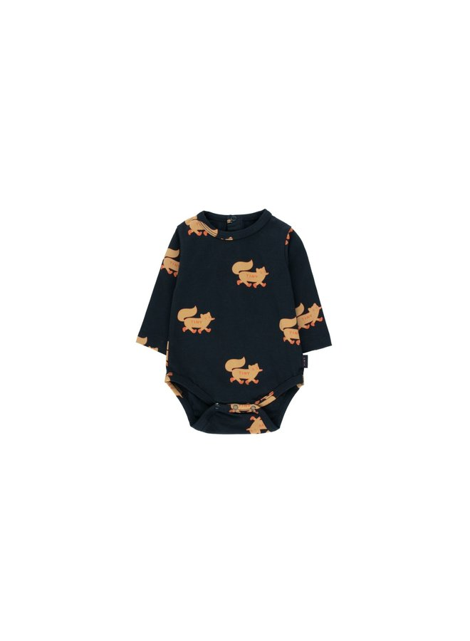 Foxes Body - Navy Camel