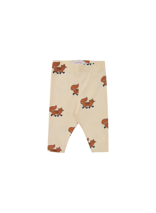 Foxes Pant - Cream/Brown