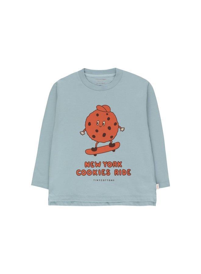 Cookie Ride Tee - Warm Grey/Sienna