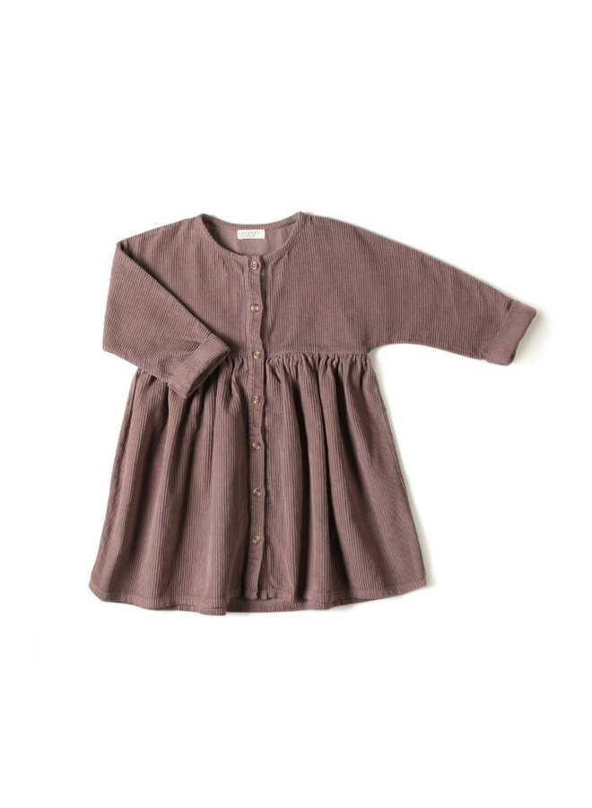 Horn Dress - Mauve