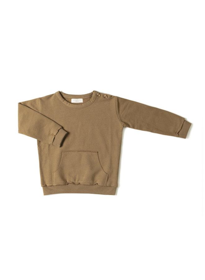 Kangaroo Sweater - Olive