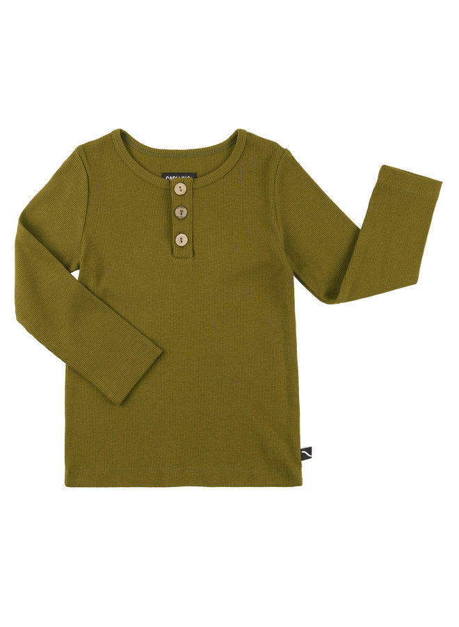 Basics - longsleeve with 3 buttons