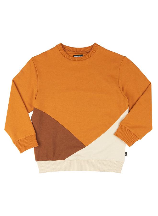 Basics - sweater block (multi brown)