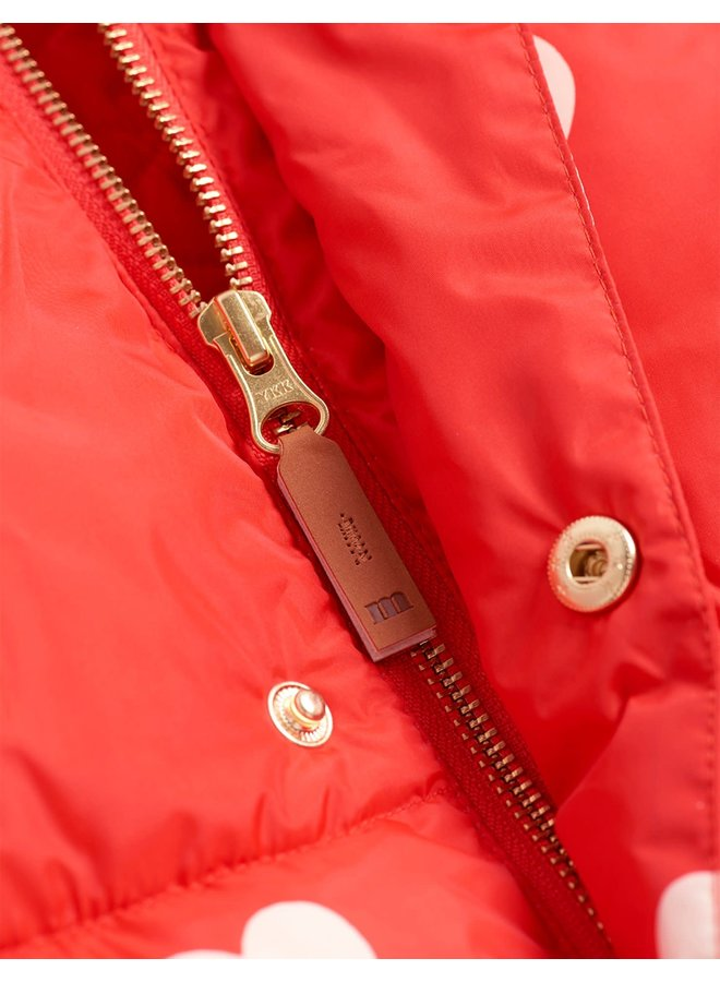 Hearts pico puffer jacket - Chapter 1 - Red