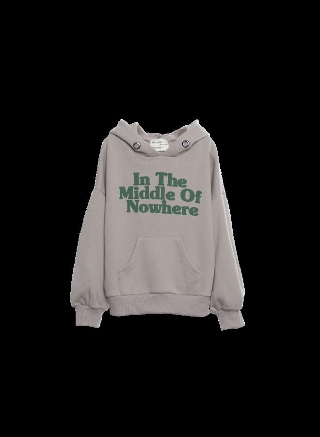 Hoodie Sweatshirt - ash