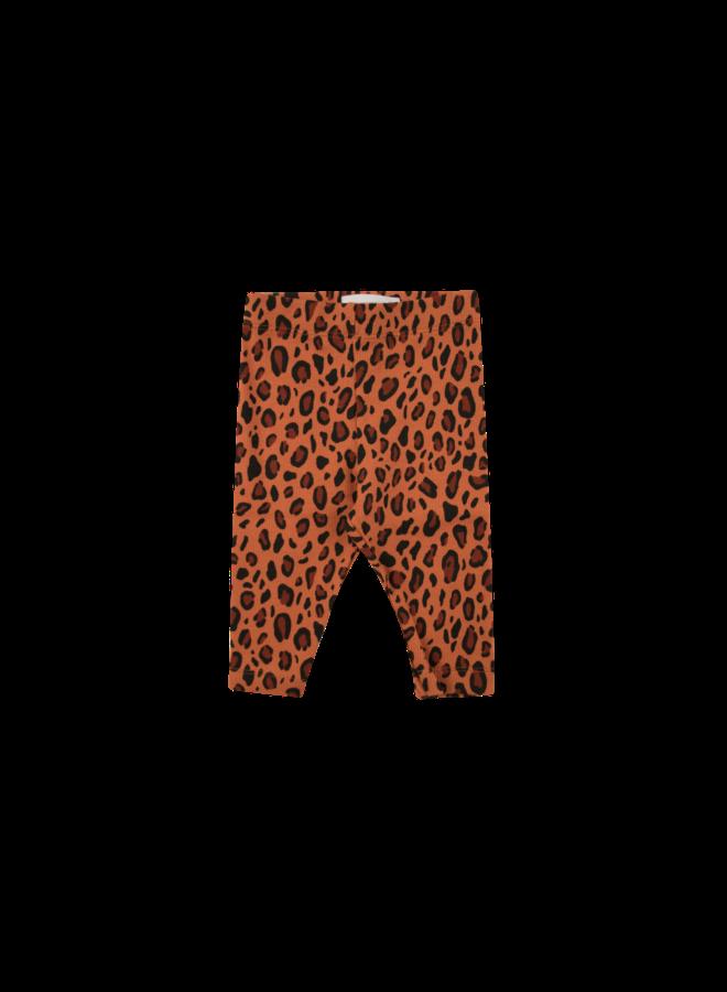 Animal Print Pant - sienna/dark brown