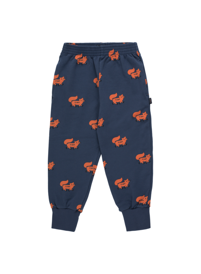 Foxes Sweatpant - Light Navy / Sienna