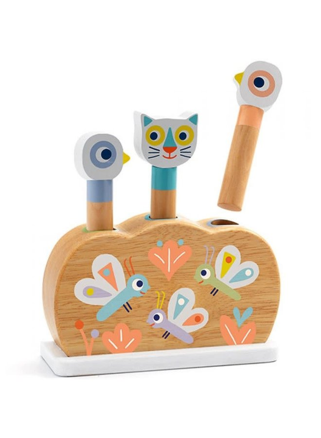 Pop-up Puzzel - Babypopi - DJ06105