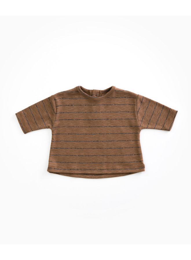 Striped Jersey T-shirt - R245Y