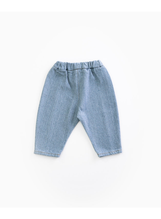 Recycled Denim Trousers - D001