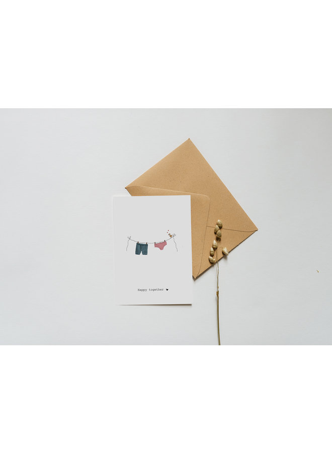 Kaart - Happy Together - A0051