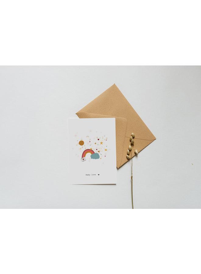 Kaart - Babylove - A0054