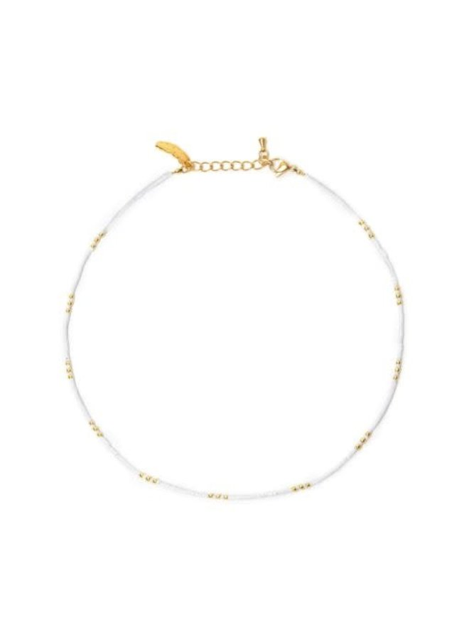 Breeze Necklace White