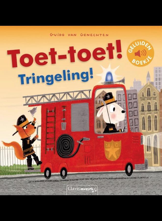 Guido van Genechten - Toet-Toet! Tringeling! (geluidenboekje)