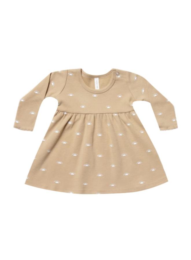 Longsleeve Baby Dress - Honey
