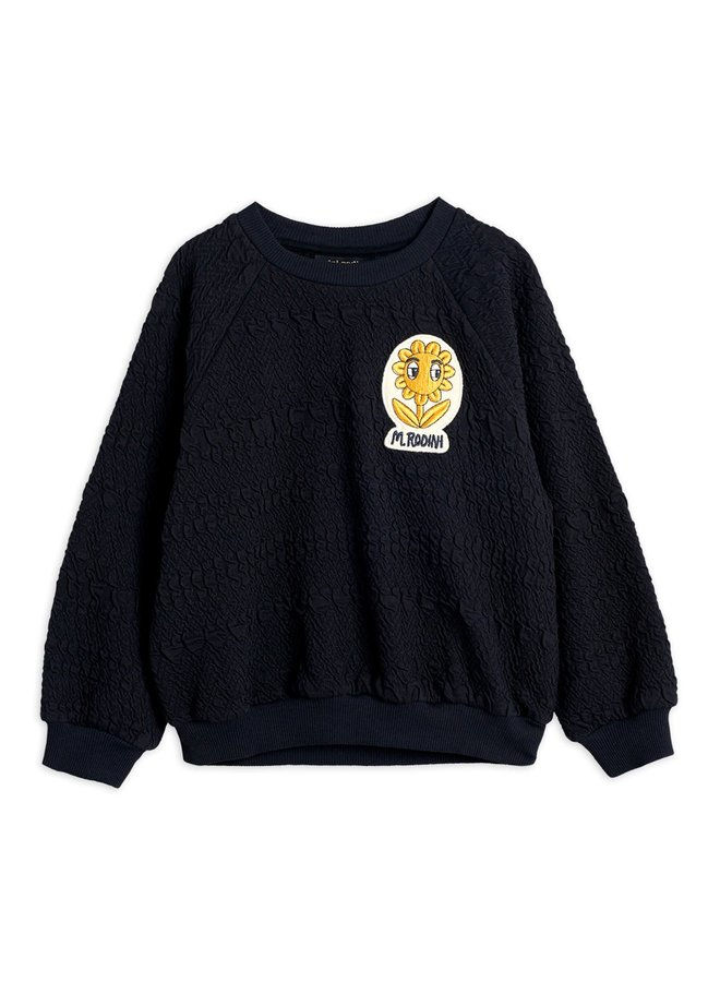 Flower patch sweatshirt - Chapter 3 - Black