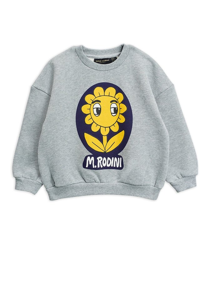 Flower sp sweatshirt - Chapter 3 - Grey Melange