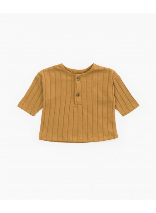 Rib T-shirt - P1074