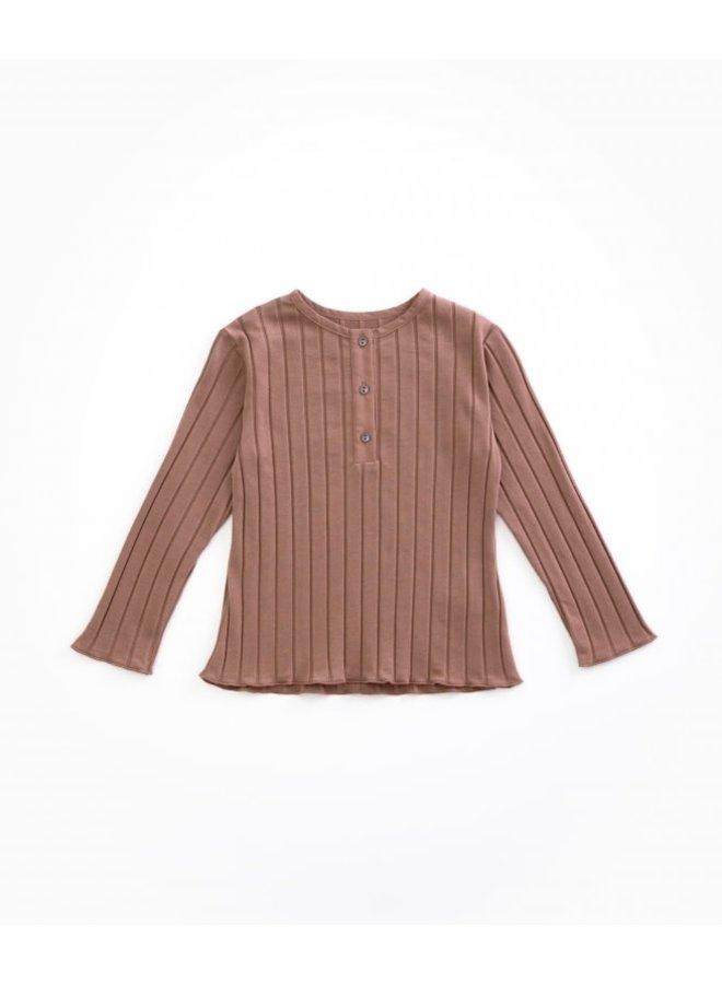 Rib T-shirt - P4112