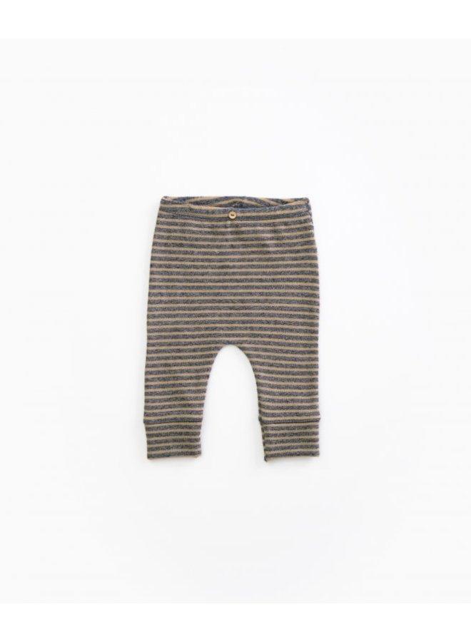 Striped Jersey Leggings - R247Y