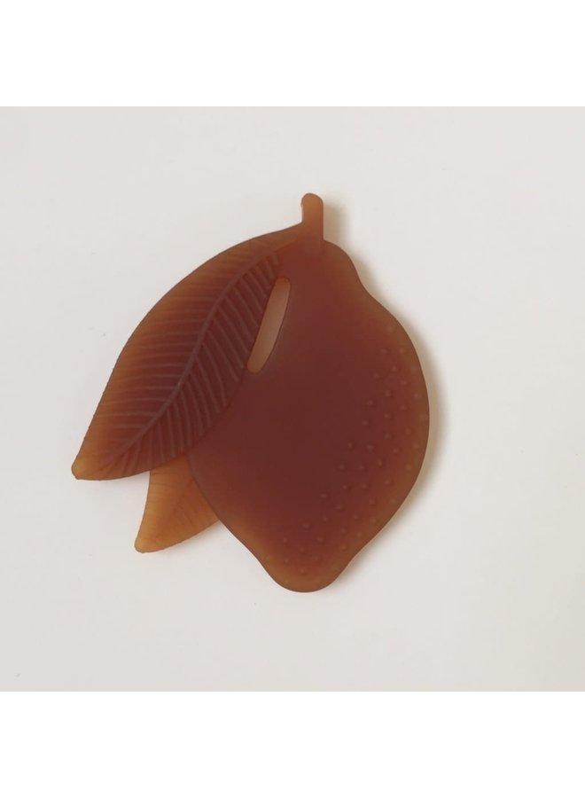 Flat Fruit Teether - Lemon