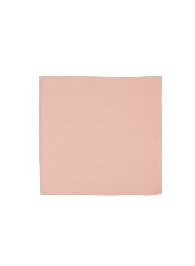 Muslin Square - Rainbow - 3 pack - Rose