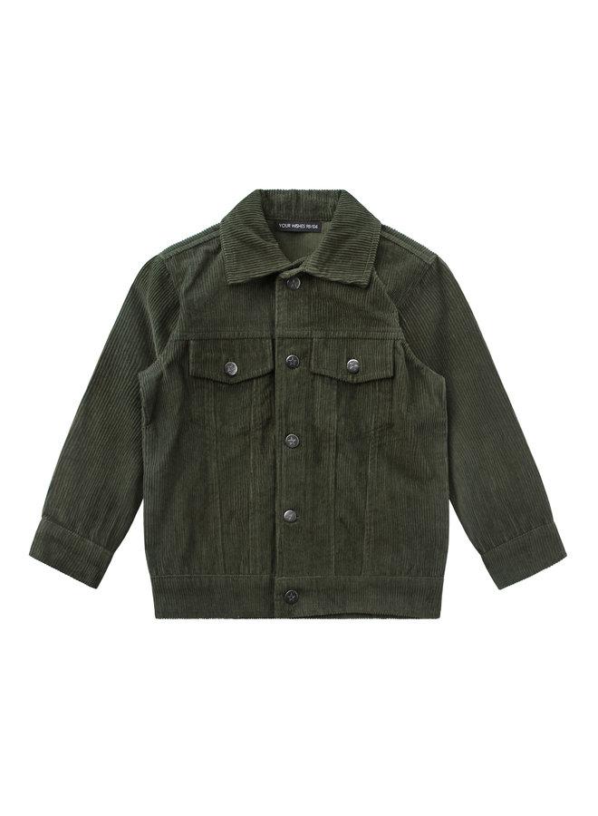 Corduroy - Jacket - Desk Green