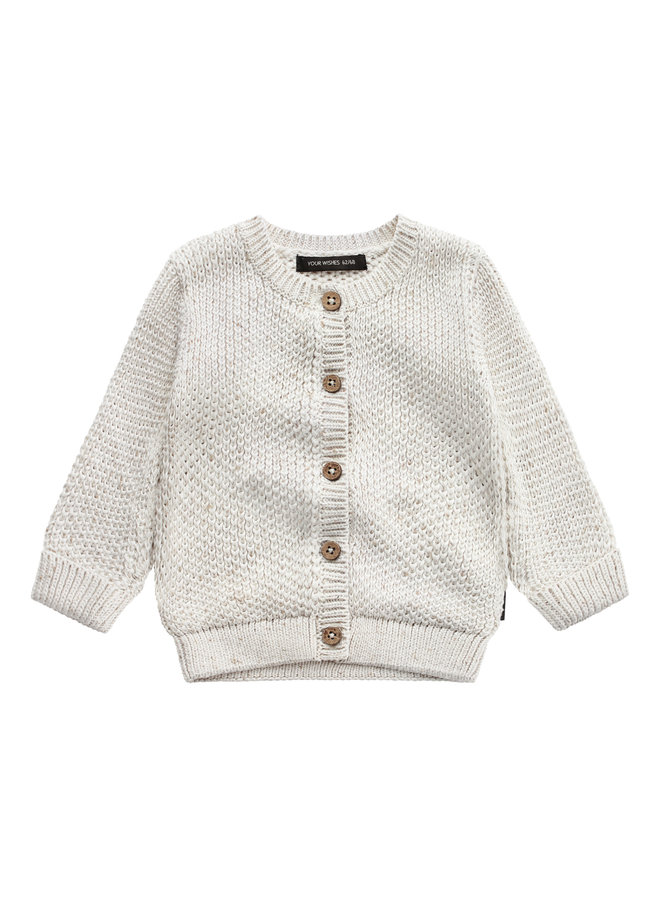 Knit - Vest - Chalk