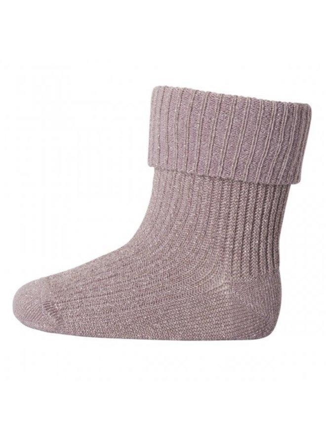 MP Denmark - Ankle Ida - 188 - Woodrose - Glitter