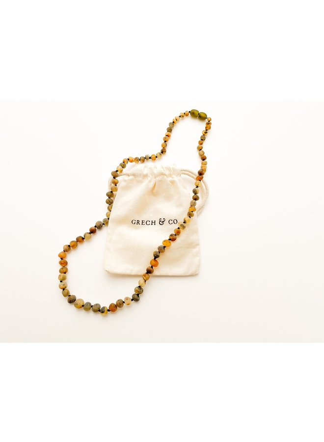Grech & Co - Baltic Amber - Necklace - Tierra - 007