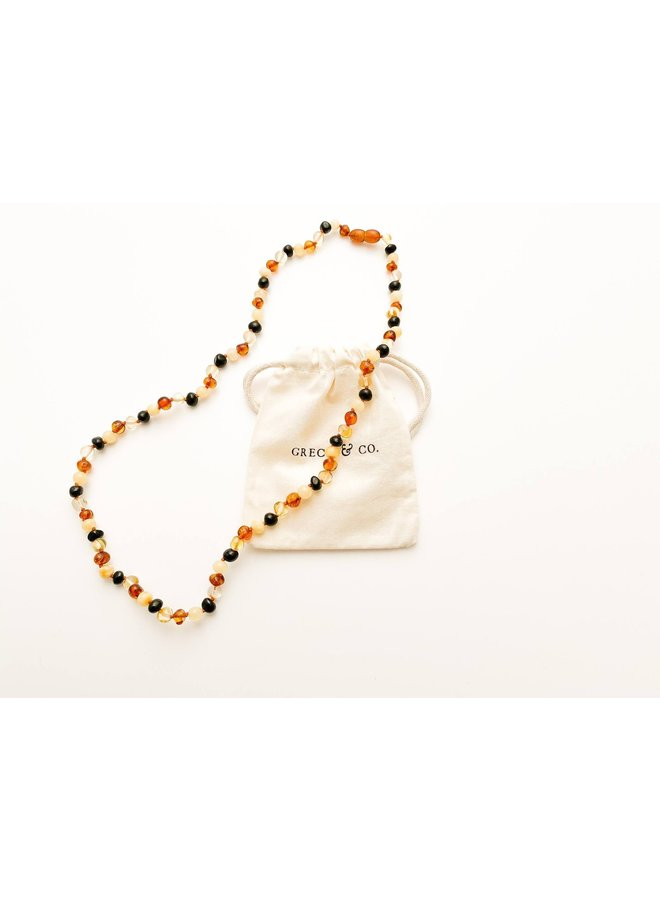 Baltic Amber - Necklace - Faith - 004