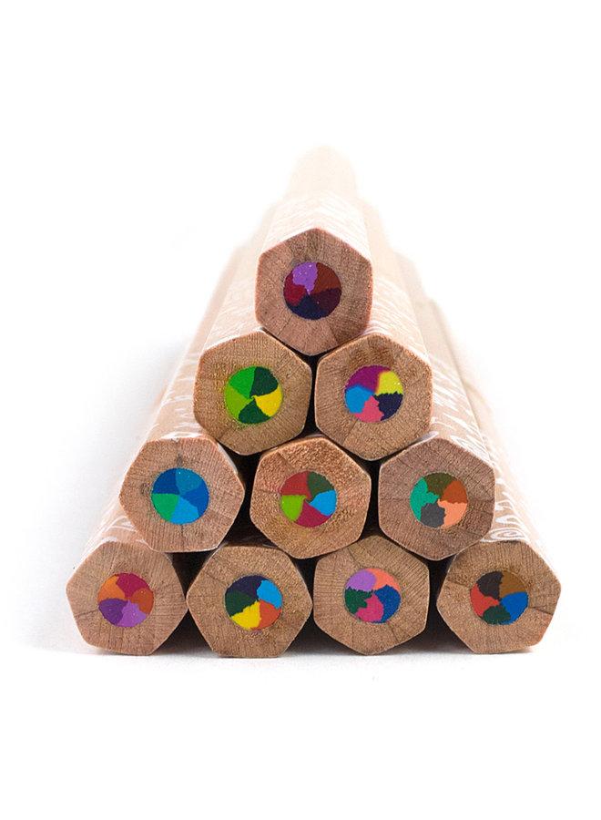 Kleurpotloden 'Kaleidoscope'