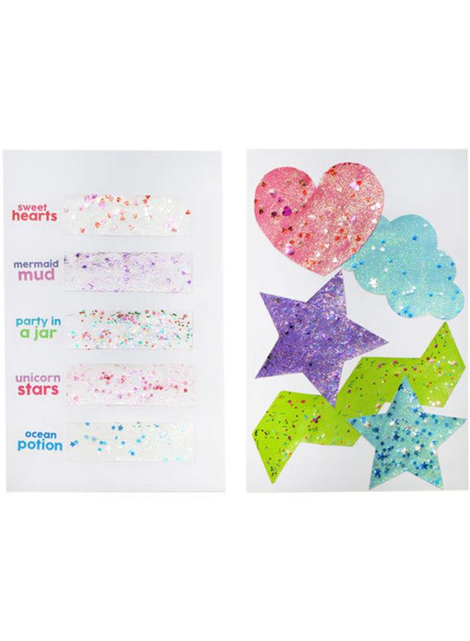 Glitterlijm - Party in a jar - multicolor