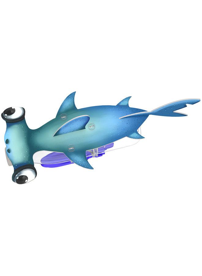 Hammerhead Shark & Manta Ray
