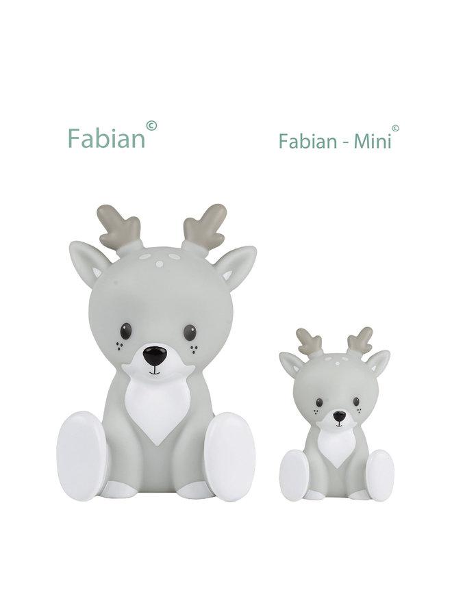 Fabian Mini - Grey - LED Light