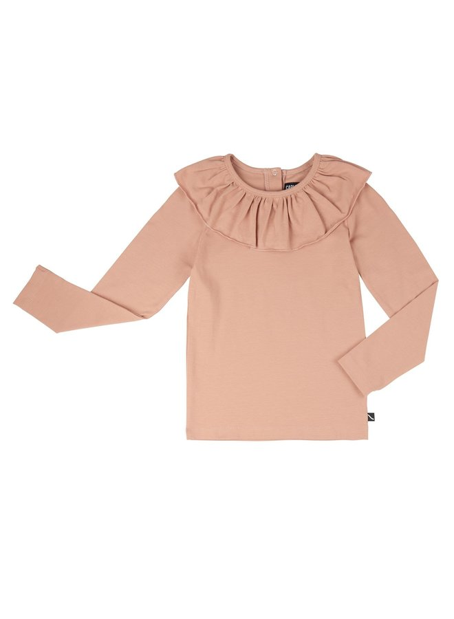 Basics - longsleeve with big collar