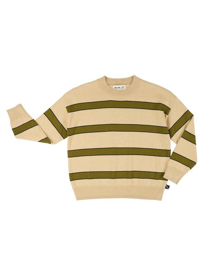 Basics knit - sweater stripes