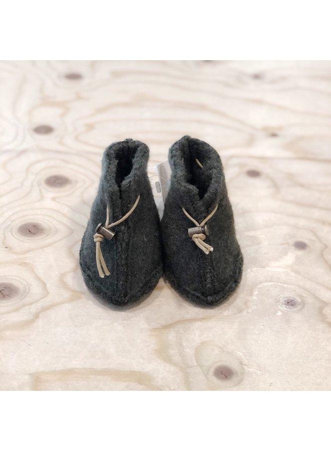 Alwero - Babyslofjes Emo Wool - Khaki