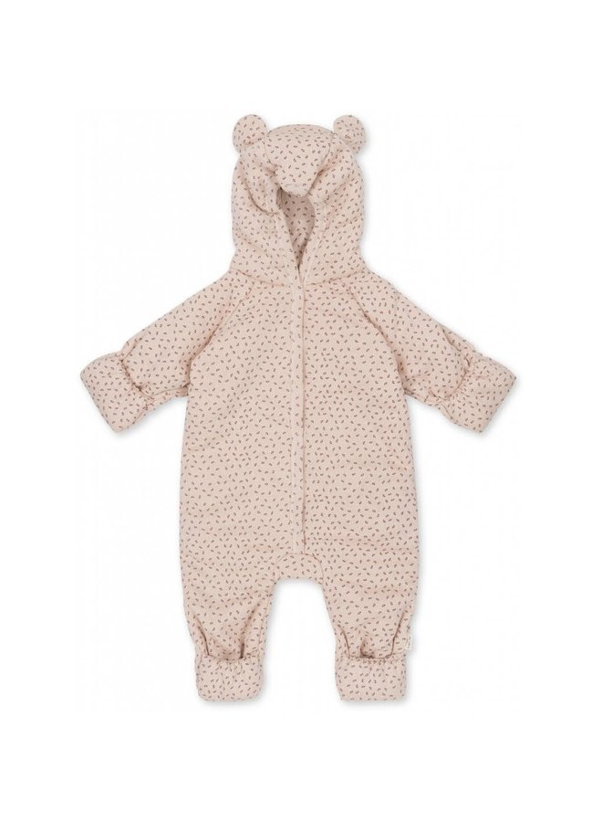 New Born Onesie With Hood Deux - Tiny Clover Rose