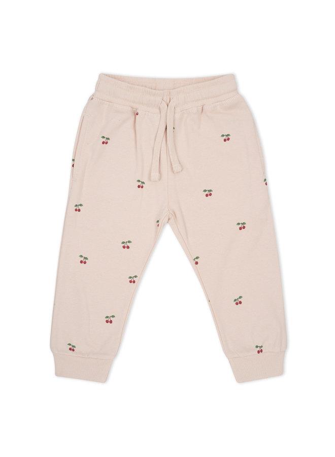 Lou Sweatshirt Pants - Cherry/Blush