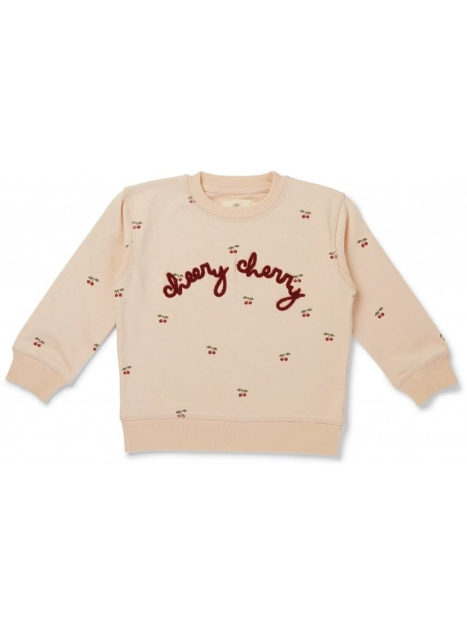 Lou Sweatshirt - Cherry/Blush