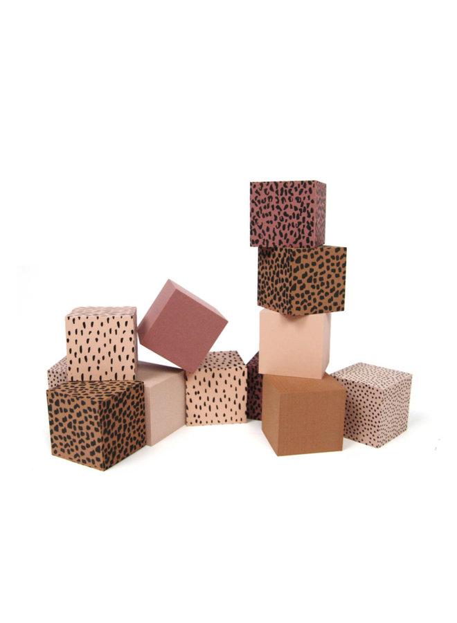 Foam Blokken + Bewaar Zak - Roze
