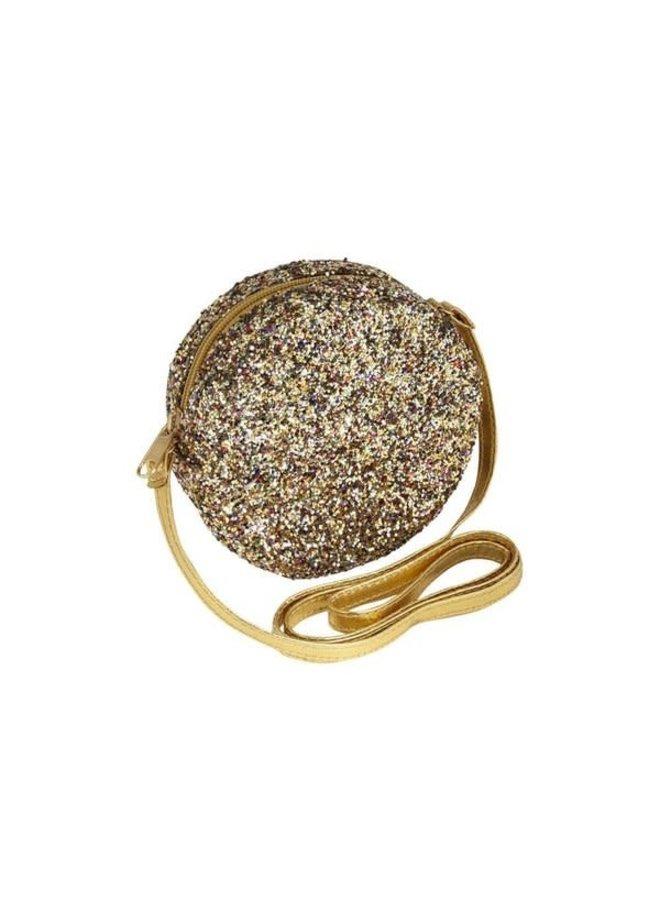 Lula Round Cross Body Bag - Gold