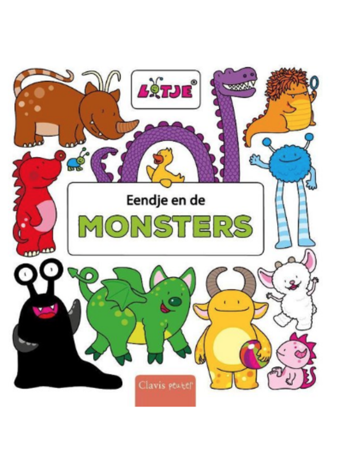 Lizelot Versteeg - Eendje en de monsters