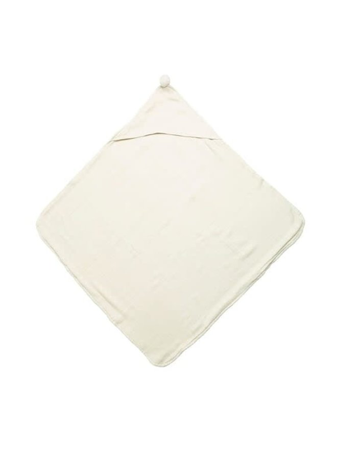 Hooded Towels - Organic Double Layerd - Latte